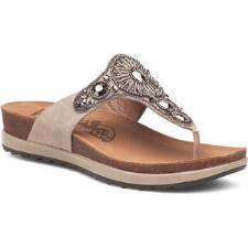 Pamela Taupe Jewelled Ladies Sandal