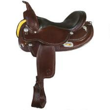 Circle Y Oasis Arab Flex Lite Trail Saddle 15 Inch Seat - TB
