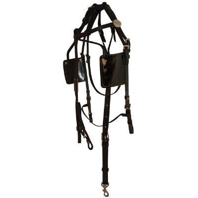 Feather-Weight Blind Bridle with Synthetic Crown