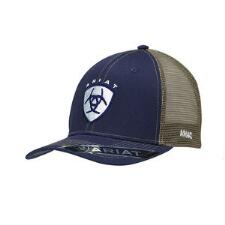 Ariat Navy with White Logo Baseball Cap - TB