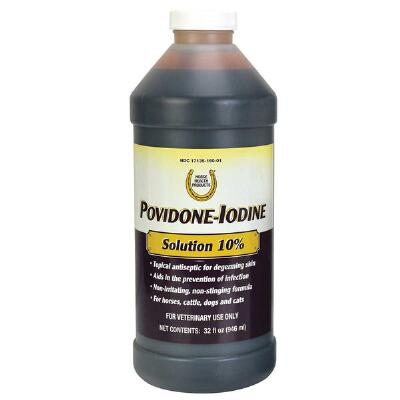 Iodine-Povidone 10 Percent Solution Qt