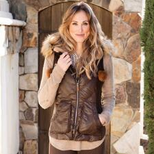 Goode Rider Luxury Ladies Down Vest - TB