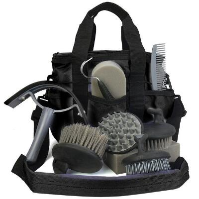 Grooming Tote with 10 Piece Grooming Set