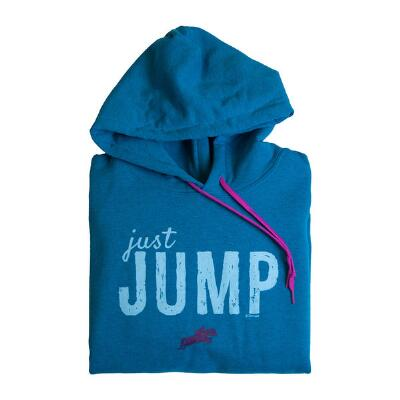 Stirrups Just Jump Ladies Hoodie