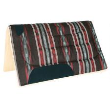 Mustang Western Saddle Pad 30 x 32 Fleece Bottom - TB