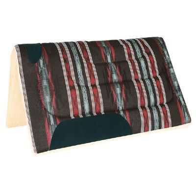 Western Saddle Pad 30 x 32 Fleece Bottom