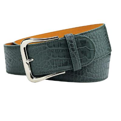 Tailored Sportsman Green Giant Croc Ladies Belt