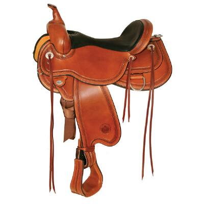 Pioneer Flex2 Trail Saddle 16 Seat-Wide Tree
