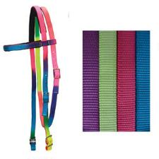 Nylon Browband Headstall Felt Lined - TB