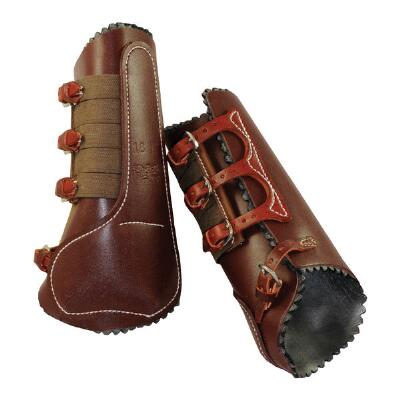 Featherweight Leather Shin and Ankle Tendon Boot