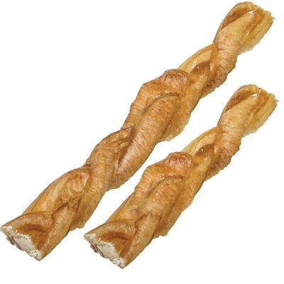 Redbarn Natural Braided Bully Sticks 5 inch