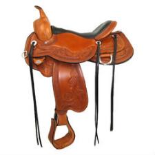 Circle Y Julie Goodnight Peak Performance Monarch Western Saddle - TB