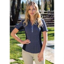 Goode Rider Ideal Print Ladies Show Shirt - TB
