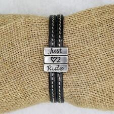 Lilo Collections Just Love 2 Ride Leather Bracelet - TB