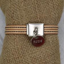 Lilo RIDE Candao Leather Charm Bracelet - TB