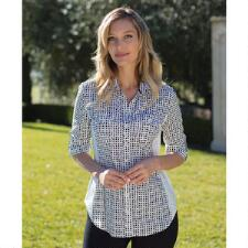Goode Rider Perfect Ladies Button Down Shirt - TB
