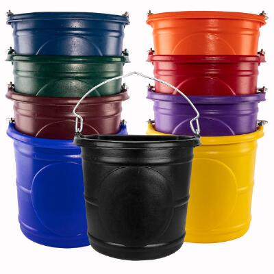 Water Bucket 20 Qt Rolled Lip