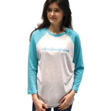 Stirrups #Horseshowweekend Ladies Baseball Tee - TB