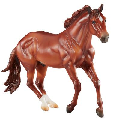 Breyer Traditional Checkers Trail Horse