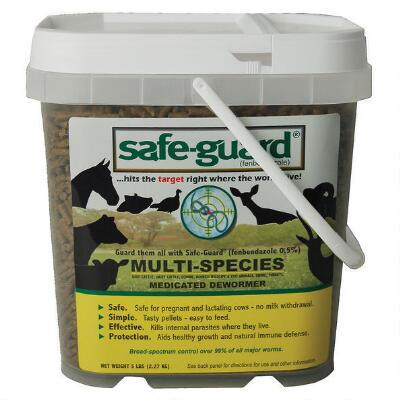 Safe Guard Multi-Species Dewormer 5 lb