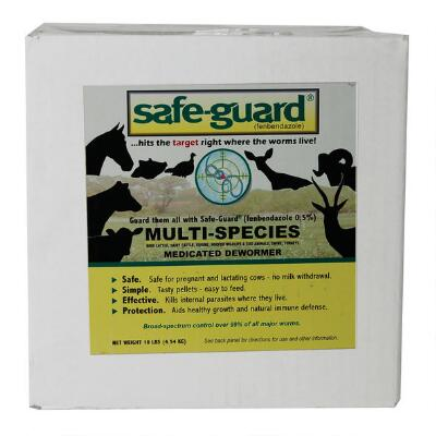 Merck Safe Guard Multi-Species Dewormer 10 lb
