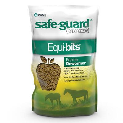 Merck Safe Guard Equi Bits 1.25 lb