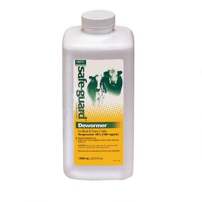 Safe Guard 10% Suspension 1000 ml Cattle & Goats