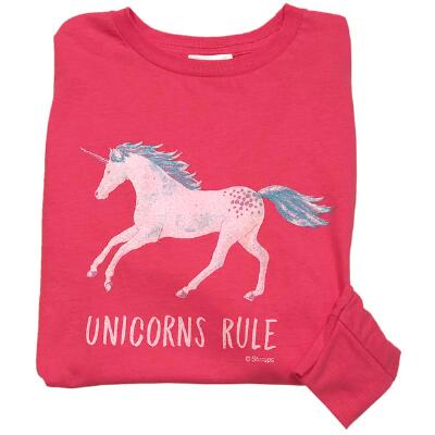 Stirrups Unicorns Rule Long Sleeve Youth Tee