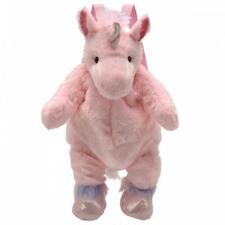 Plush Pink Unicorn Backpack - TB