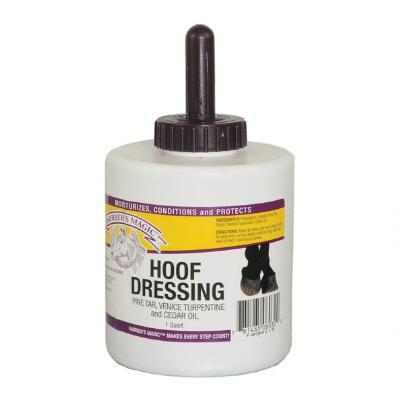 Farriers Magic Hoof Conditioner with Brush 32 oz