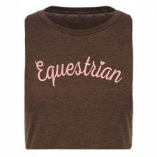 Stirrups Equestrian Fitted Ladies Tee - TB