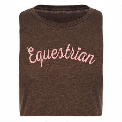 Stirrups Equestrian Fitted Ladies Tee