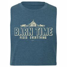 Stirrups Barn Time Fitted Short Sleeve Ladies Tee - TB