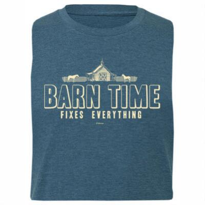 Stirrups Barn Time Fitted Short Sleeve Ladies Tee