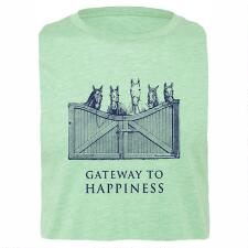 Stirrups Gateway to Happiness Ladies Tee - TB