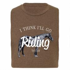 Stirrups Go Riding Unisex Tee - TB