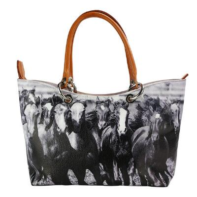 Lilo Collections Carmina Horses Ladies Handbag