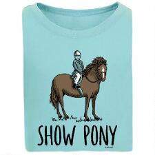 Stirrups Show Pony Girls Tee - TB