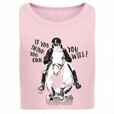 Stirrups If You Think You Can Girls Tee - TB