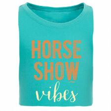 Stirrups Horse Show Vibes Girls Tee - TB