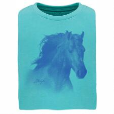 Stirrups Horse Head Girls Tee - TB