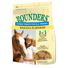Blue Seal Rounders Banana Horse Treats 30 oz - TB
