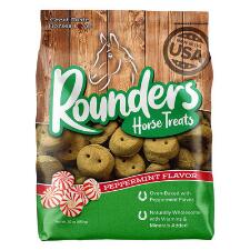 Blue Seal Rounders Mint Horse Treats 30 oz - TB