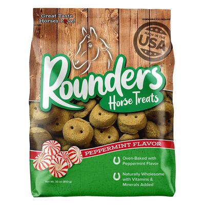 Blue Seal Rounders Mint Horse Treats 30 oz