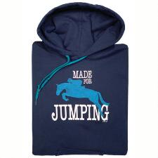 Stirrups Made for Jumping Ladies Hoodie - TB