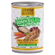 Frommbalaya Chicken Vegetable and Rice Stew 12.5 oz Can - TB