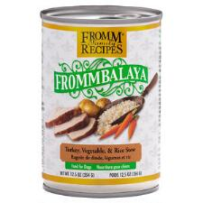 Frommbalaya Turkey Vegetable and Rice Stew 12.5 oz can - TB