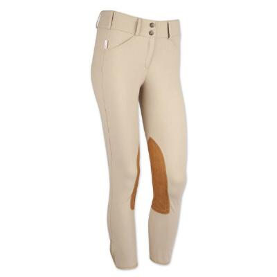 Tailored Sportsman Tan Trophy Hunter Mid-Rise Front Zip Breech