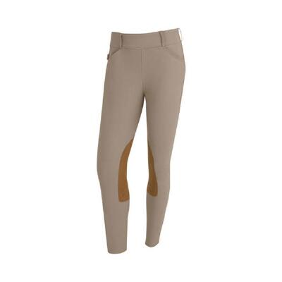 Tailored Sportsman Tan Trophy Hunter Mid-Rise Side Zip Breech