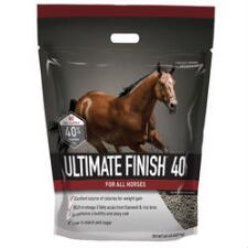 Buckeye Nutrition Ultimate Finish 40 20 lb Pellet - TB